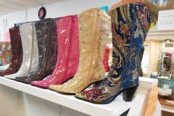 Sequined Cowboy Boots at Hipnotique Boutique in Punta Gorda, Florida