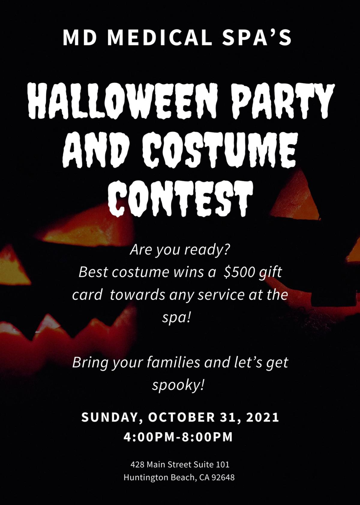 MD Medical Spa Halloween Party