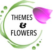 Themes & Flowers Logo