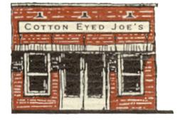 Cotton Eyed Joe's Logo