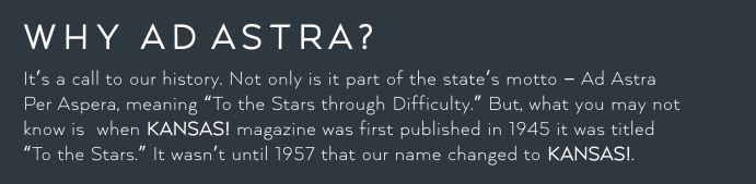 why ad astra
