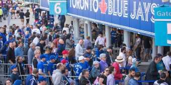 Toronto Blue Jays gate 6 entrance  at Rogers Centre