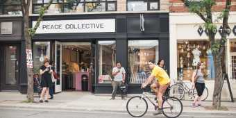 Peace Collective on Queen Street West