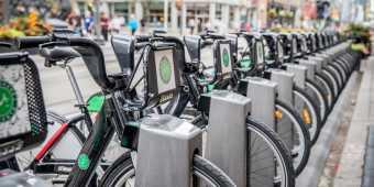 City bicycles in Toronto