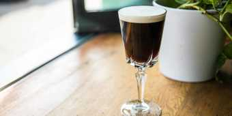 Irish Coffee at Grey Tiger