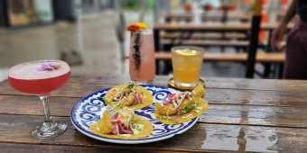 Tacos and cocktails at Fonda Lola