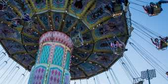 Canadian National Exhibition swing ride