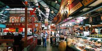 The Saint Lawrence Market in Toronto