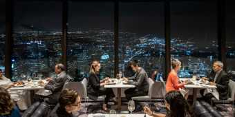 360 The Restaurant at the CN Tower Interior Images