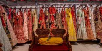 Indian clothing store in Toronto's Little India