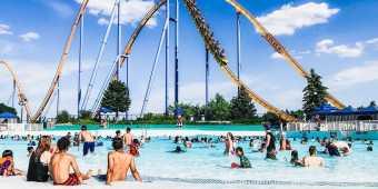 Splashworks waterpark at Canada's Wonderland