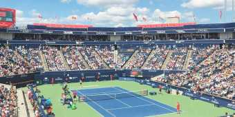 The Rogers Cup tennis match in Toronto