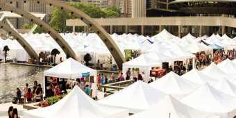 toronto-outdoor-art-exhibition-booths-at-nathan-phillips-square