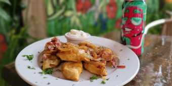 Squirly's perogies and craft beer