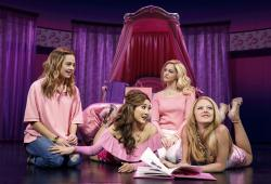 Mean Girls, production still
