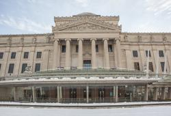 brooklyn museum, winter