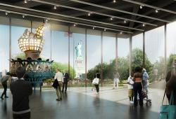 Statue of Liberty Museum Rendering