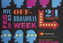 NYC Off-Broadway Week Winter 2020 Creative