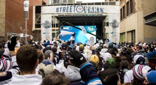 Jets Street Party