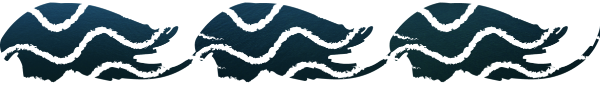 Depiction of Lake Superior Waves
