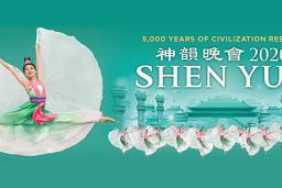Flyer for Shen Yun 2020