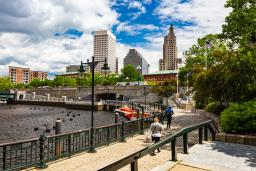 Downtown Providence in Summer
