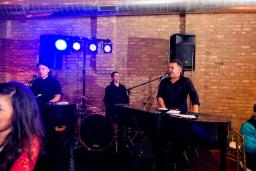 Dueling Pianos on stage