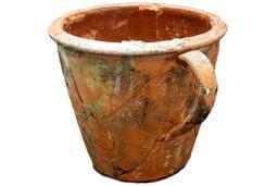 Early Black History Artifact-Painter's Pot