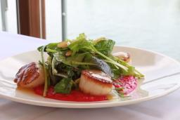 Pan Roasted Scallop Salad