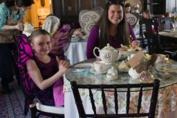 Blithewold Girls having Tea