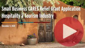 webinar - cares relief grant