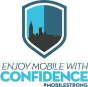 Enjoy Mobile with Confidence Logo Squared