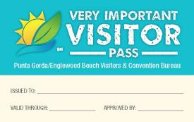 Very Important Visitor Card Front