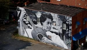 Elizabeth Cotten Mural by Scott Gurkin