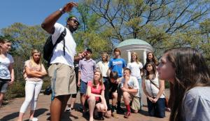 Guided Tour at University of North Carolina Chapel Hill