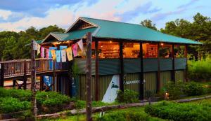 Honeysuckle Tea House - outside view
