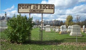 Point Au Roche cemetery photo