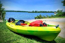 Lake McMurtry Kayaking