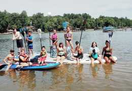 THE GOAT BOATER, STAND-UP PADDLEBOARDING