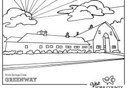 COLOR YORK COUNTY WITH THESE FREE PRINTABLE COLORING SHEETS