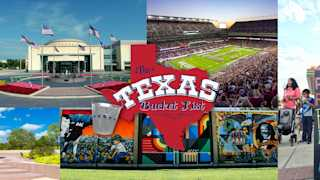 The Texas Bucket List- Bryan College Station