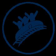Visit Orlando Attractions blue icon