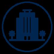 Visit Orlando Accommodations blue icon