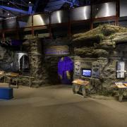 Discovery Cave area at the Museum of Science and Technology
