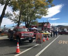 Bridgeport Autumn Fest car show