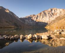 Convict Lake Fall Colors