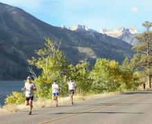 Ridge Rambler half marathon
