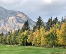 Town of Mammoth Lakes golf course