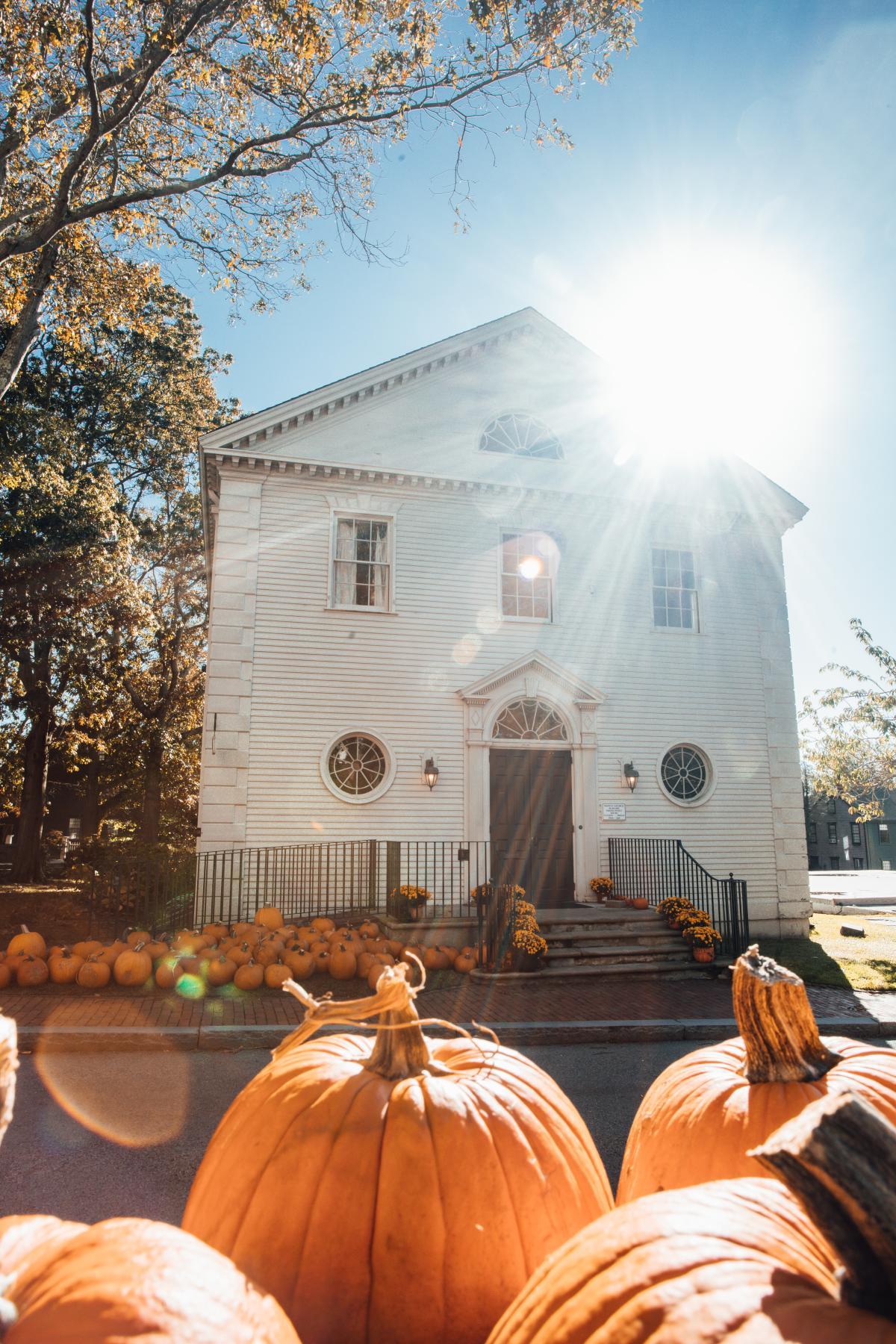 fall newport ri trinity church