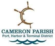 Cameron Parish Port Logo